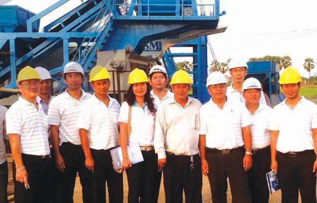 บริษัท ผลิตภัณฑ์และวัตถุก่อสร้าง เข้าเยี่ยมโรงงาน