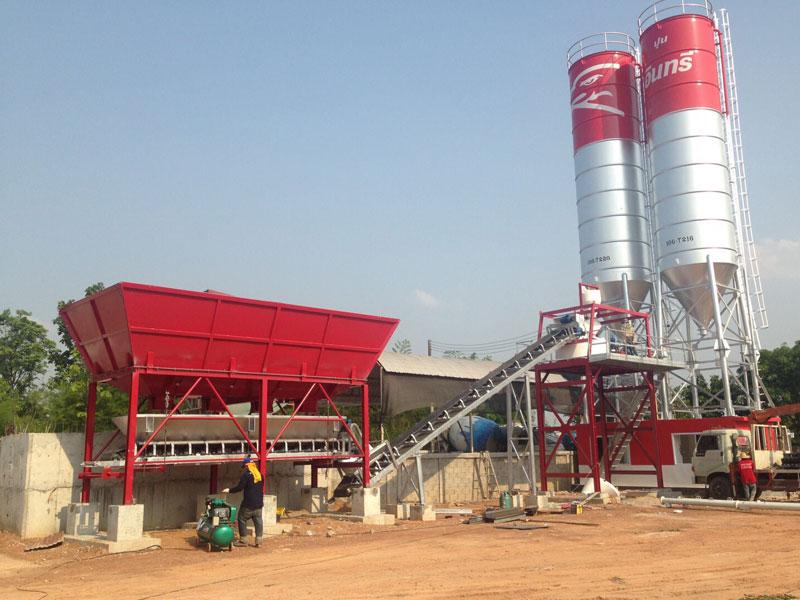SSM Factory Concrete Batching Plant 1